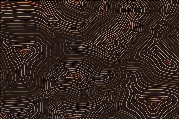 Topographic map background theme