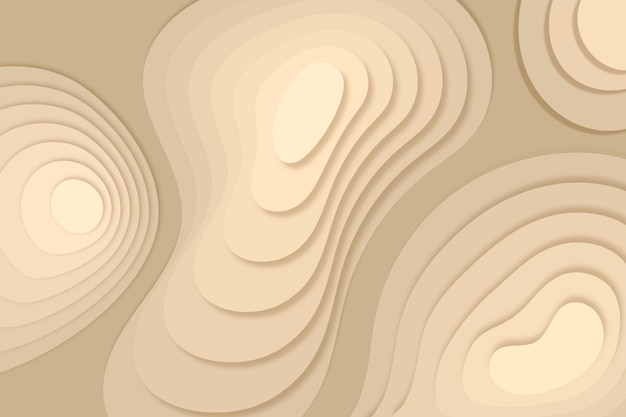 Topographic map background with sand dunes