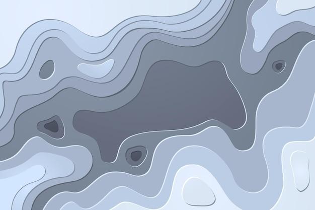 Фон контурных линий топографической карты
