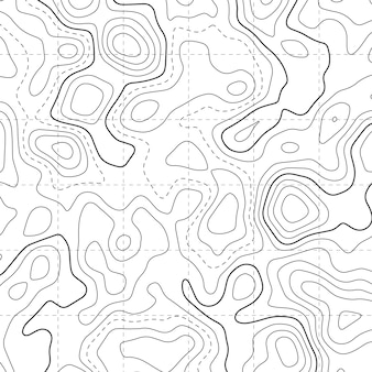 Topographic map diagram pattern background