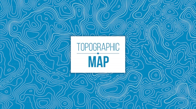 Topographic map. mountain hiking trail grid.