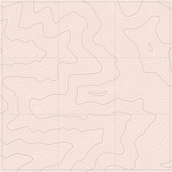 Topographic map patterns topography line map