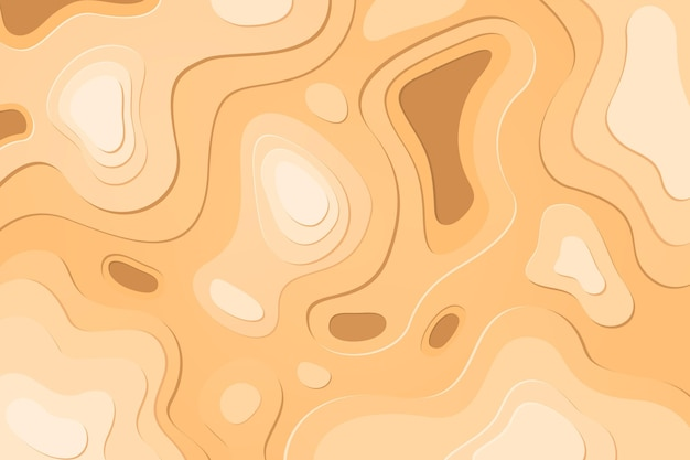 Topographic map wallpaper theme