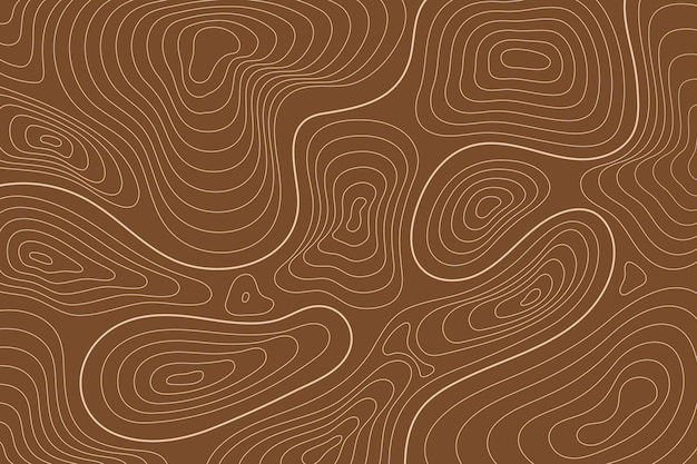 Topographic map wallpaper