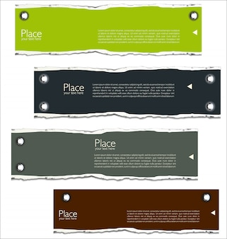 Torn paper background with space for text