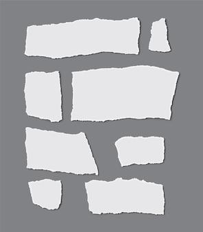 Сбор рваной бумаги