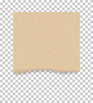 背景の紙切れ