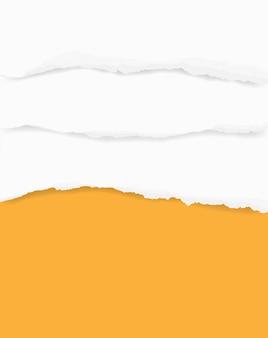 Рваные бумажные края для фона.
