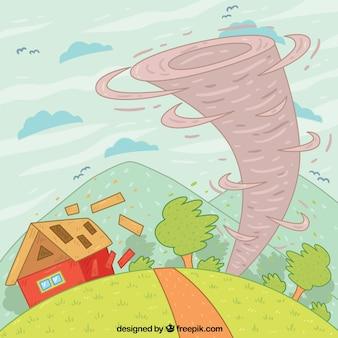 Дизайн торнадо