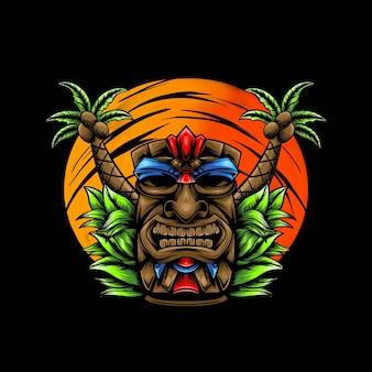 Totem illustration design