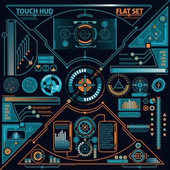 Touch hud set
