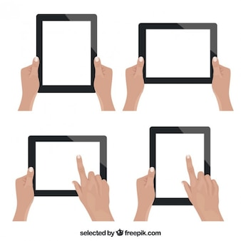 Tablet touch pad