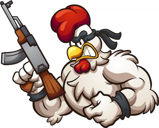 Tough chicken