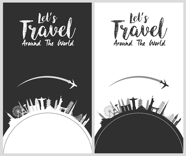 Tour and travel template design