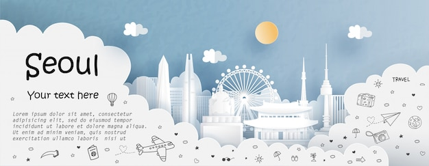 Tour and travel with travel to seoul