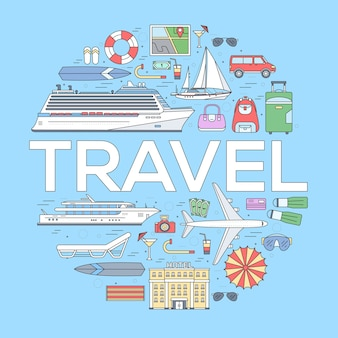 Tourism circle concept design