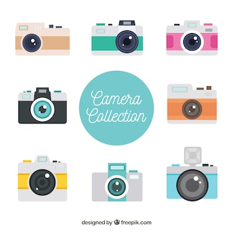 Tourist camera collection