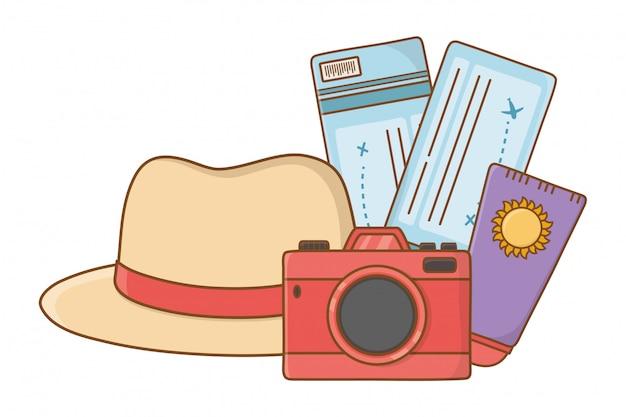 Tourist trip summer travel