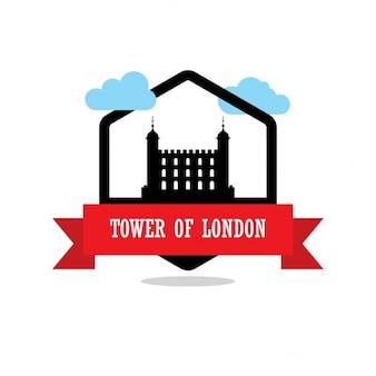 Torre di etichette nastro londra