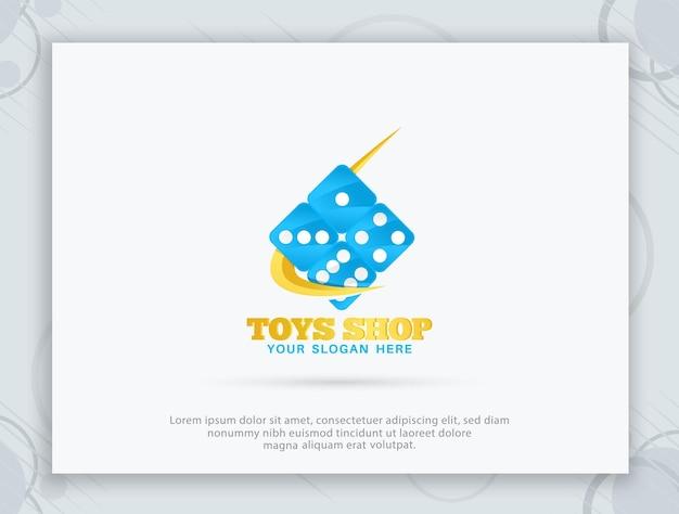おもちゃ屋のロゴデザイン