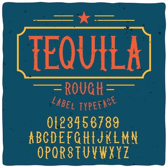 Tquila書体