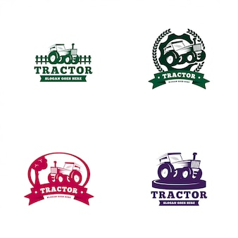 Tractor logo template