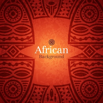 Traditional african background
