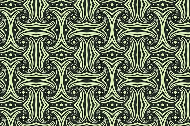 전통적인 아프리카 장식 완벽 한 패턴입니다.