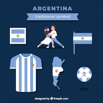 Traditional argentinian elements