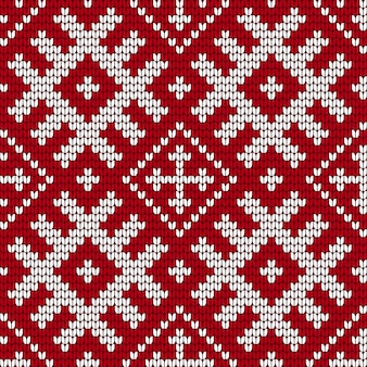 Traditional baltic knitting pattern