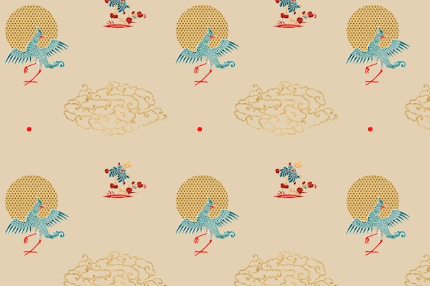 Traditional chinese art background