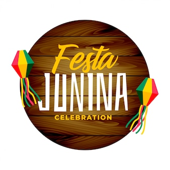 Traditional festa junina