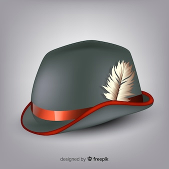 Traditional german hat
