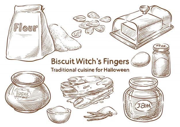 Traditional halloween food