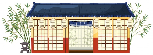 A traditional japanese house