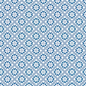 Traditional scandinavian pattern. nordic ethnic seamless background. textures in red and white colors.