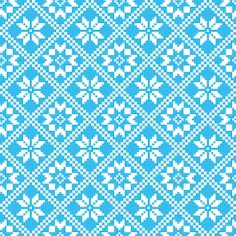 Traditional scandinavian pattern