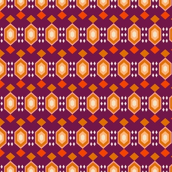 Traditional songket pattern template