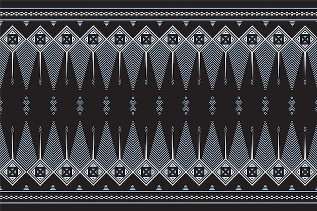 Traditional songket pattern with grey elements