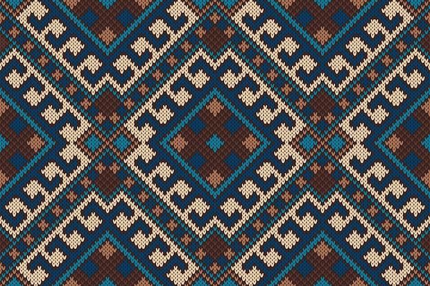 伝統的な部族のアステカパターン