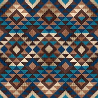 Традиционный племенной ацтекский узор