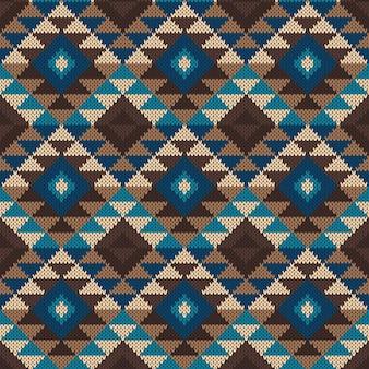 伝統的な部族のアステカパターン Premiumベクター