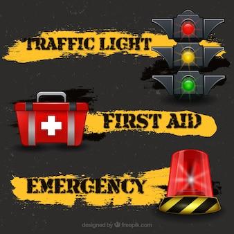 交通や緊急事態