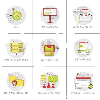 Traffic conversion seo marketing ad campaign
