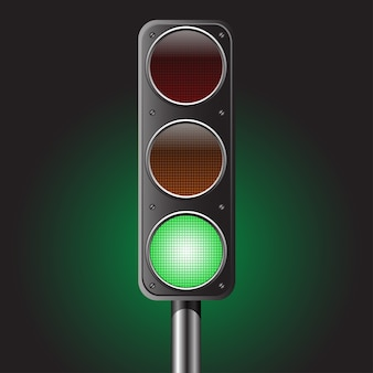 Traffic green light