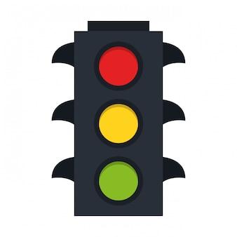 Traffic lights symbol