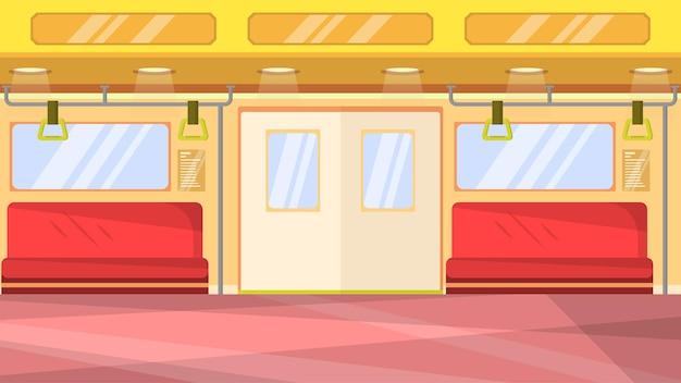 Train interior  - interior scenes