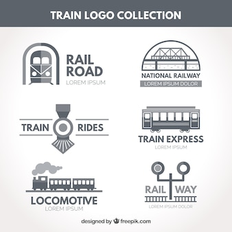 Train logo collection