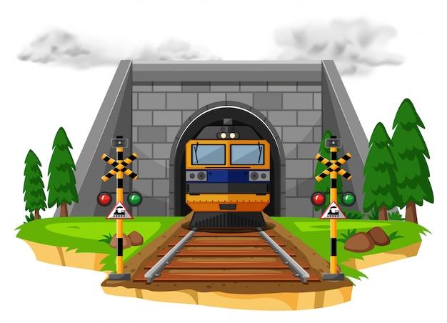 鉄道で電車に乗る