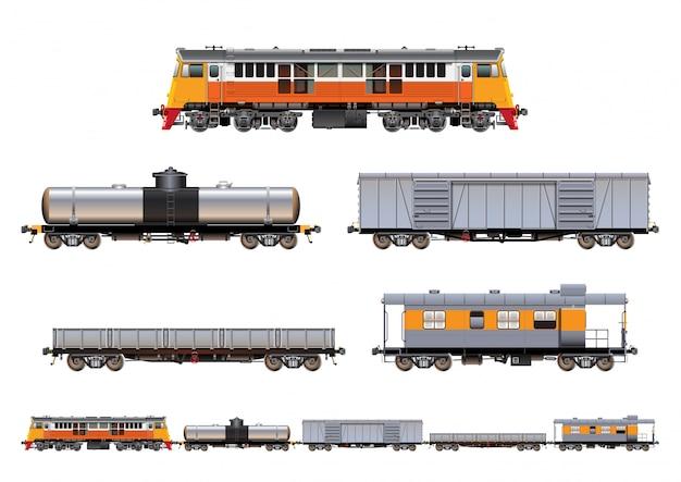 Train set cargo